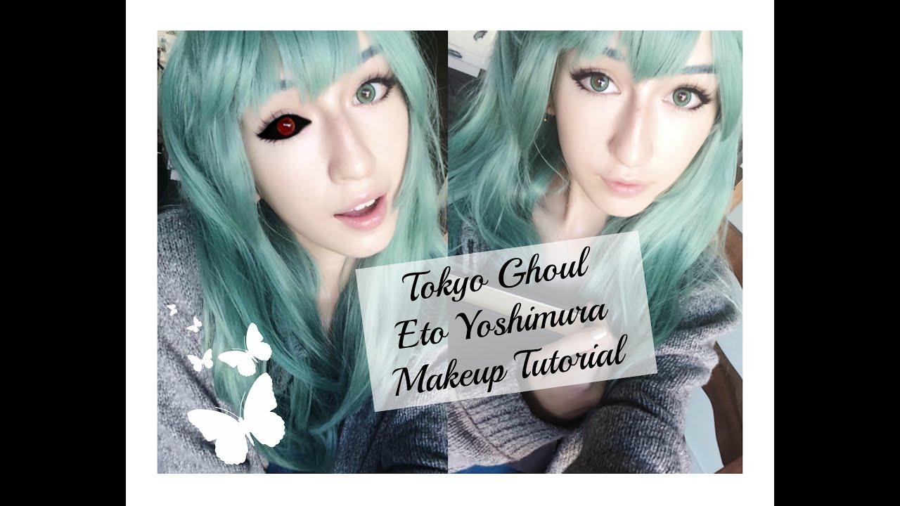 Tokyo Ghoul Eto Yoshimura Makeup Tutorial Youtube