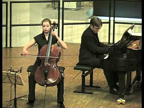 Christine Rauh plays and talks - Felix Mendelssohn Bartholdy: Cello Sonata No.2 in D major