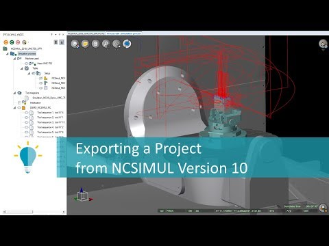 Export a project from NCSIMUL | Tutorial