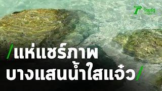 แห่แชร์ บางแสน น้ำใสแจ๋ว   12-10-63   ข่าวเที่ยงไทยรัฐ
