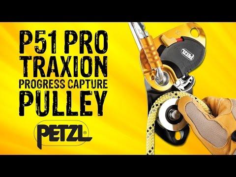 Petzl P51 Pro Traxion Progress Capture Pulley - GME Supply