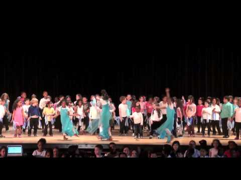 Let It Go Frozen (cover) - Ella Baker School NYC Media Studies Sings