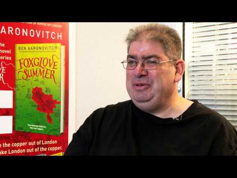 Ben Aaronovitch discusses Foxglove Summer - YouTube