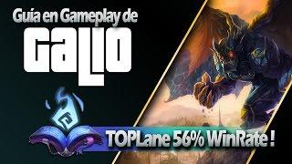 CÓMO GANAR TOP LANE CON GALIO ( 56% WIN RATE !! )
