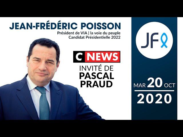 Intervention de JF Poisson suite à l'assassinat de Samuel Paty | CNEWS 20 oct. 2020