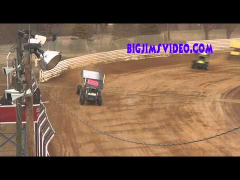 Selinsgrove Speedway 410 Sprint Highlights March 23, 2014