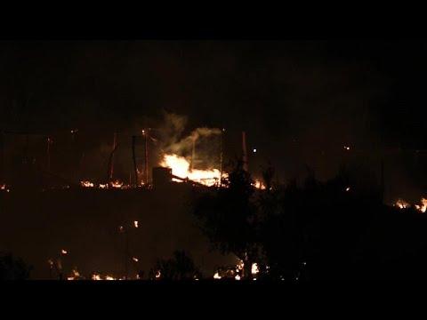 السيطرة على حريق كبير اندلع في مخيم للمهاجرين في جزيرة ساموس اليونانية…  - نشر قبل 19 ساعة