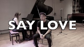 JOJO - SAY LOVE -  cover by JEIGH MADJUS (LIVE)