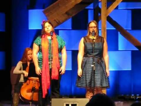 "Braly Sisters singing ""The First Noel"""