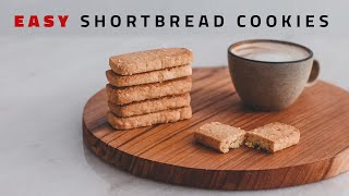 How to Make Classic Shortbread Cookies [ASMR]