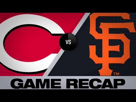 5/12/19: Balanced offense lifts Giants past Reds