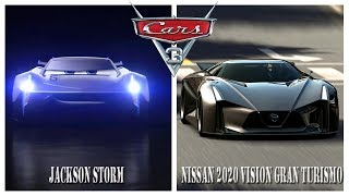 Cars 3 ALL NEW Characters in Real Life