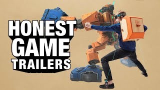 NINTENDO LABO (Honest Game Trailers)