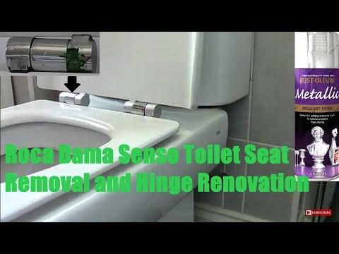 Roca Dama Senso Toilet Seat Removal Hinge Restore