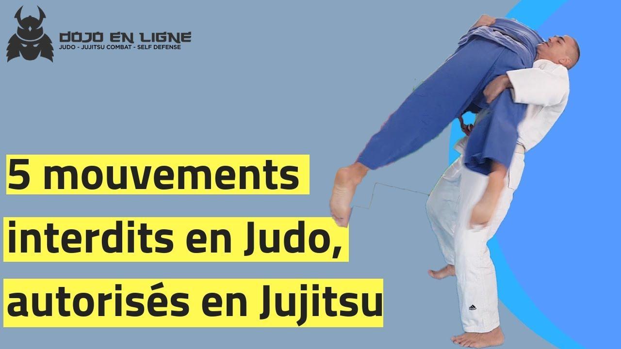 5 techniques de Judo interdites, mais autorisées en Jujitsu