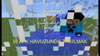 Türkçe Minecraft-Sıkılınca Yapabileceğiniz 31 Şey