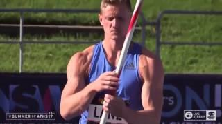 Mens Javelin Decathlon - 2017 Australian Athletics Championships