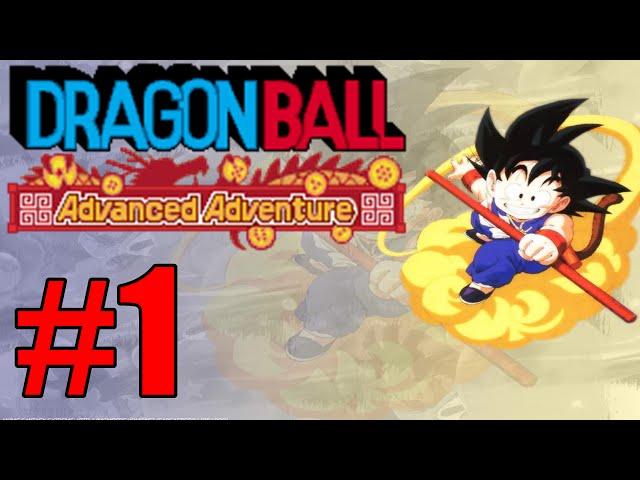 Dragon Ball de Plataforma e Luta GBA