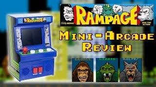 Rampage Mini-Arcade Cabinet Review