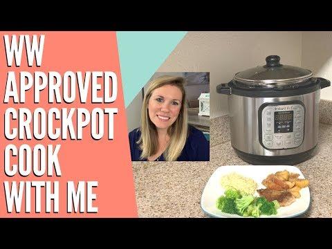 WW Approved Crockpot Apple Porkchops