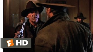 Unforgiven (4/10) Movie CLIP - Little Bill Meets William Munny (1992) HD