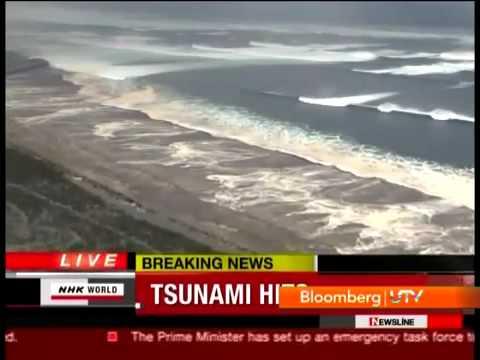 """Japan Tsunami"" - Wall of Water (Tsunami in Japan 2011)"