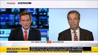 Nigel Farage says Brexit deal is Sabotage to Britain