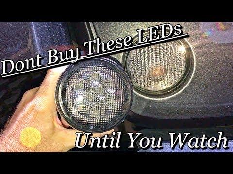 HOW to install Jeep Wrangler   LED TURN SIGNALS   LED vs OEM Bulb (Jeep JK)