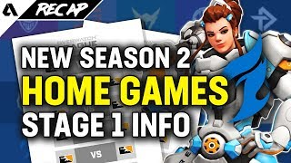 Dallas Fuel To Host Home Games, Overwatch League S2 Prizing Format & Schedule Updates   Akshon Recap