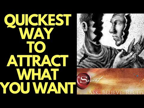 Exercise to QUICKLY Change Self-Image to Attract What You Want