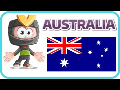 [Learn English Country 1] AUSTRALIA FACTS FOR KIDS