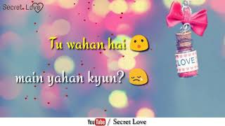 Tere Mere - Neeti Mohan || Very Beautiful Whatsapp Status Video ❤❤❤