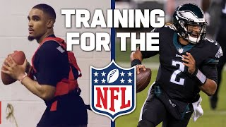 How Does a Quarterback Train for the NFL Draft?