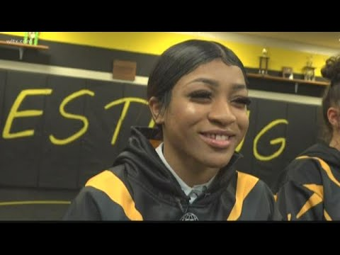Irmo high school's champion wrestler is a girl