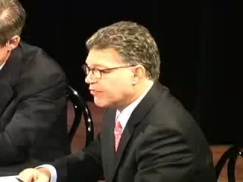 Attacking Iran- Franken Debates Coleman