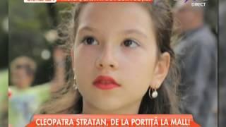 Cleopatra Stratan nu mai e doar o fetiță cu codițe!