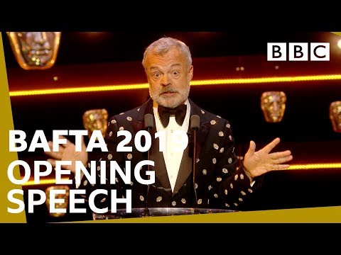 Graham Norton's hilarious speech opens BAFTAs | The British Academy Television Awards 2019 - BBC