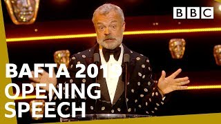 Graham Norton's hilarious speech opens BAFTAs | The British Academy Television Awards 2019 - BBC