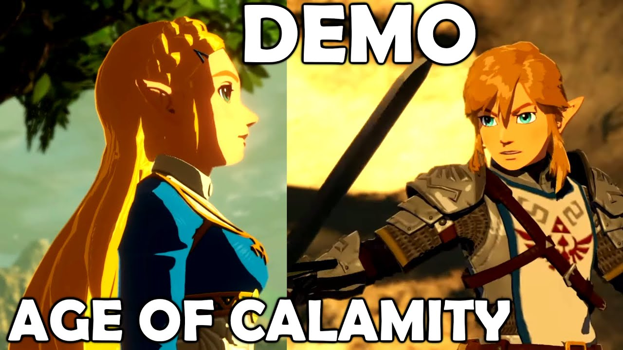 Hyrule Warriors Age Of Calamity Demo Gamplay First 14 Minutes Youtube