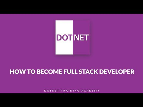 How to become Full Stack Web Developer?