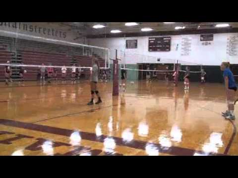 Sauk Centre volleyball