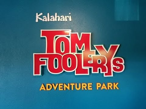 TOM FOOLERY'S ADVENTURE PARK At The Kalahari Resort In Wisconsin Dells