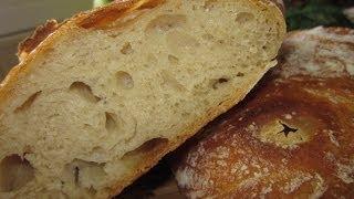 Рецепт - Хлеб домашний (чиабатта)(Итак... для присоединившихся с радостью и удовольствием сообщаю, надо: 2 стакана(каждый 250 мл.) или 320г муки..., 2014-05-30T12:33:17.000Z)