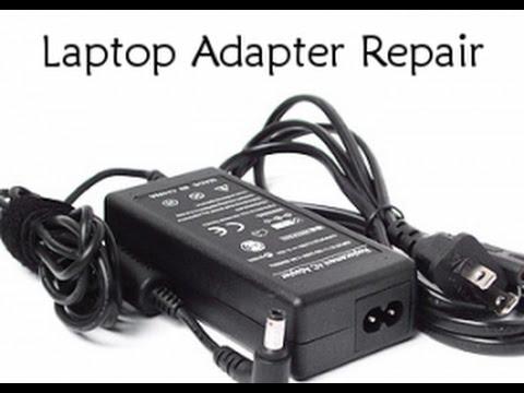 how to repair laptop charger repair in hindi - YouTube