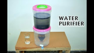 How to Make Charcoal Water Purifier at Home - Science Project For poor & Remote Area