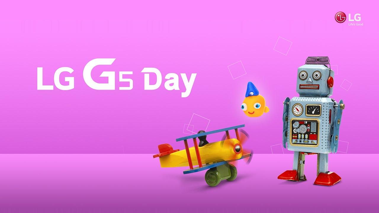 LG G5 Day - Full video, Feb 21st @ Barcelona
