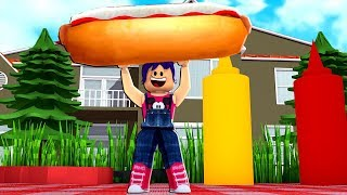 too many SAUSAGES for a single bread - ROBLOX - Sausage Sizzle