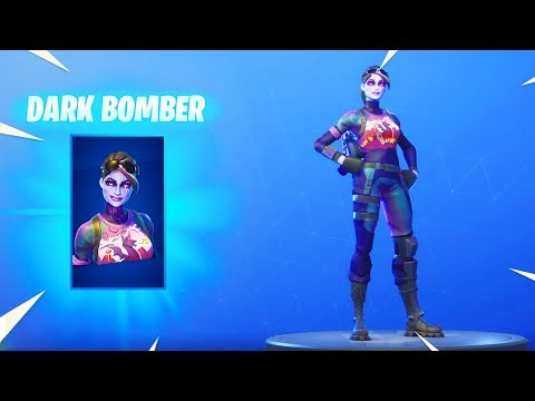 *NEW* DARK BOMBER SKIN!!! The Future Looks Dark! [Fortnite Item Shop Skin October 4]