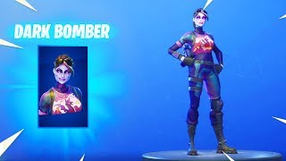 *NEW* DARK BOMBER SKIN!!! The Future Looks Dark! [Fortnite Item Shop Skin October 4]