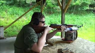 Soviet/Russian SKS shooting.